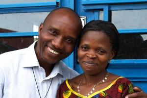 Alphonse et Consolata Respnsables du Souffle de Vie à Goma