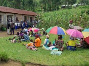 Femmes à Goma
